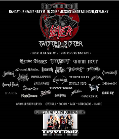 Bang Your Head Festival 2016